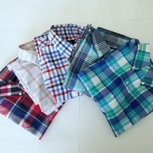 Lot of 5 Jos A Bank Casual SS Button Down Shirt